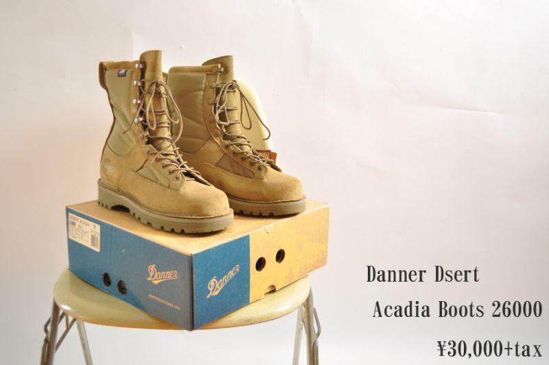 画像1: Danner Dsert Acadia Boots 26000 ミリタリー メンズ 人気 通販