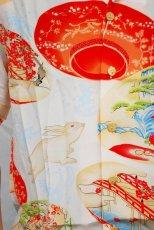 画像2: LaLa kai ララカイ 和柄 アロハシャツ HL-023 rabbit セール!! (2)