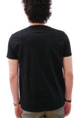 画像3: ケイズクロージング Tシャツ おっさんネコ(ブラック) (3)