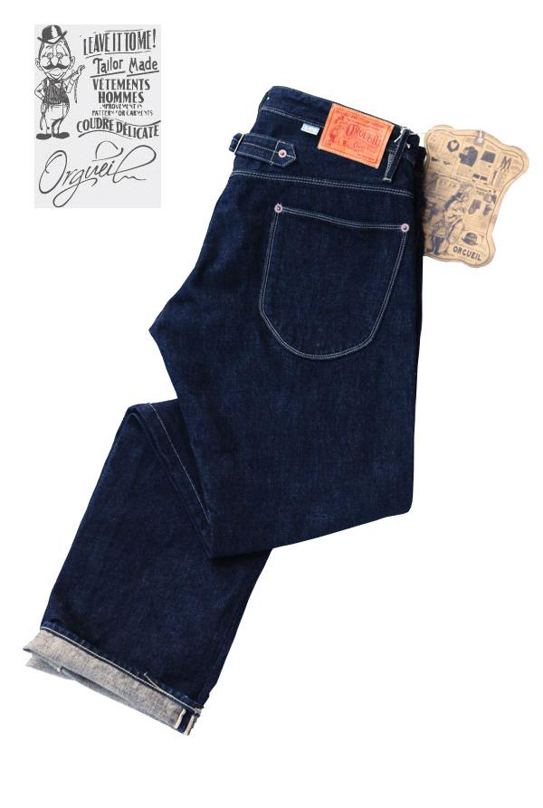 画像1: ORGUEL オルゲイユ Tailor Jeans OR-065 メンズ 通販 人気 (1)