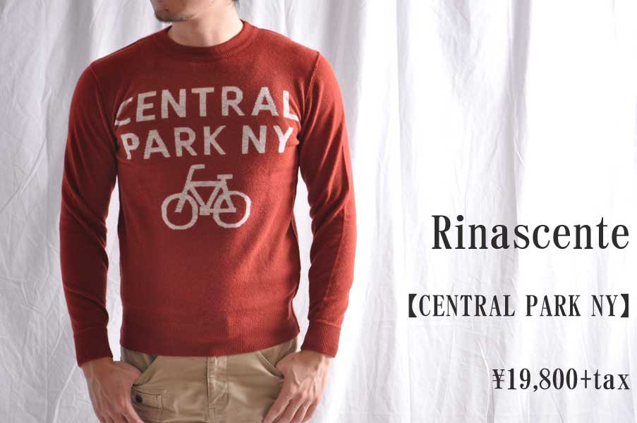 画像1: Rinascente CENTRAL PARK NY レッド メンズ 人気 通販 (1)