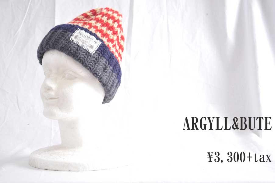 画像1: ARGYLL&BUTE ニットワッチ RED 小物 人気 通販 (1)