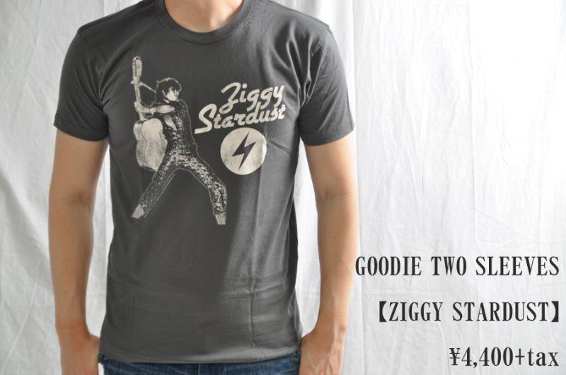 画像1: GOODIE TWO SLEEVES ZIGGY STARDUST Tシャツ メンズ レディース 人気 通販 デビットボウイ (1)