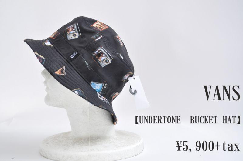 画像1: VANS UNDERTONE BUCKET HAT Hank Bank  帽子 ハット 人気 通販 (1)