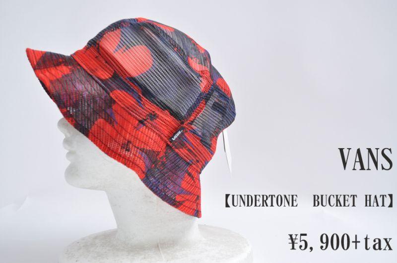 画像1: VANS UNDERTONE BUCKET HAT Pop Floral  帽子 ハット 人気 通販 (1)