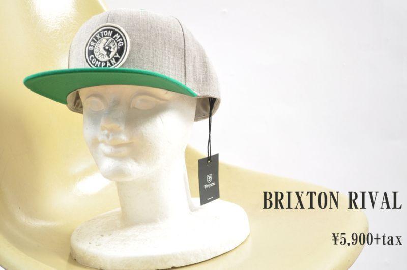 画像1: BRIXTON RIVAL 帽子 小物 人気 通販 (1)