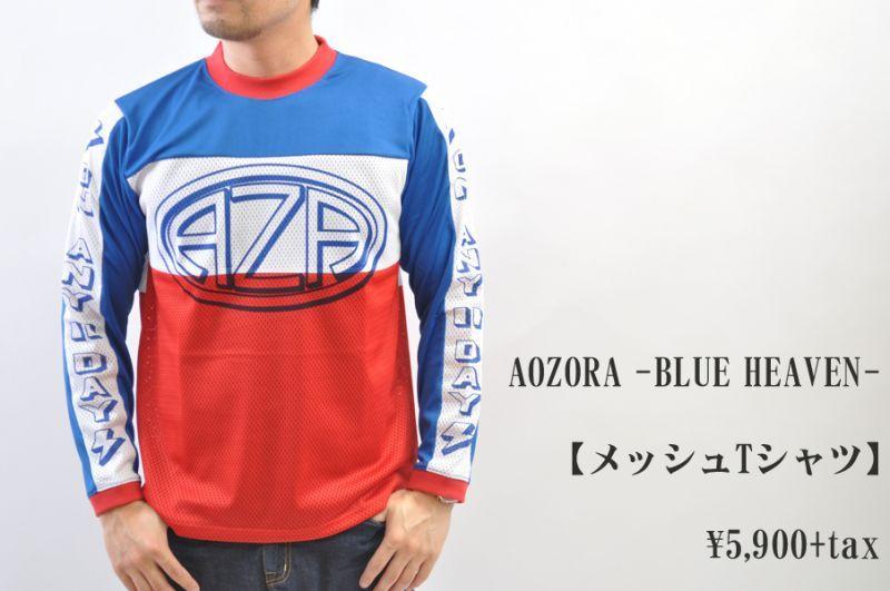 画像1: AOZORA -BLUE HEAVEN- メッシュTシャツ メンズ 人気 通販 (1)