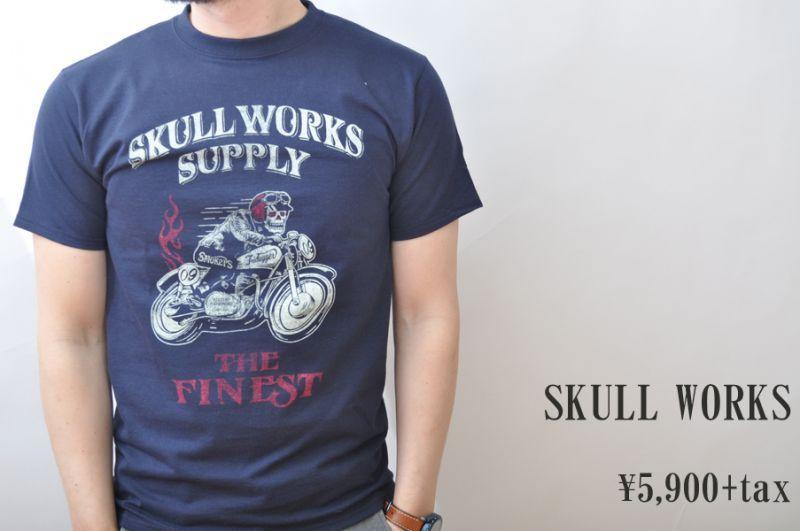 画像1: SKULL WORKS Tシャツ メンズ 人気 通販 (1)