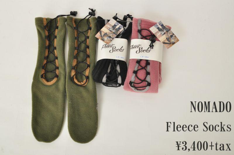 画像1: NOMADO Fleece Socks メンズ レディース 小物 雑貨 (1)