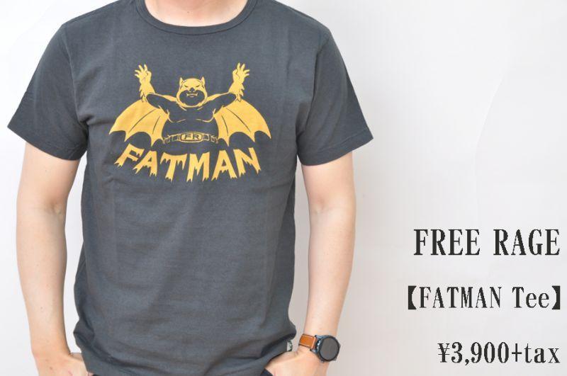 画像1: FREE RAGE FATMANTee Tシャツ メンズ 人気 通販 (1)