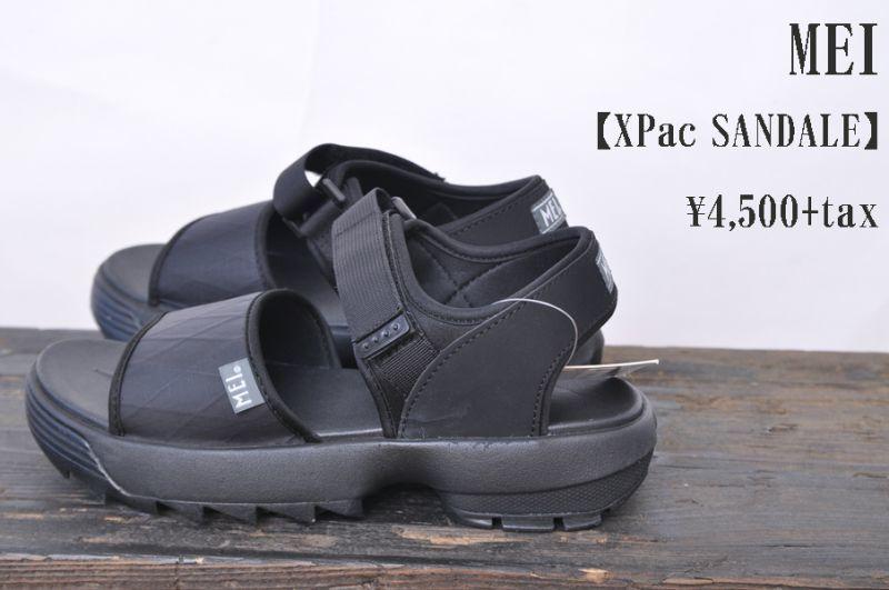 画像1: MEI XPac SANDALE BLACK メンズ サンダル 人気 通販 (1)